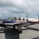 Baron-58-Aircraft-Custom-Painting