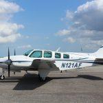 Baron-58-Plane-Painting