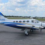 Cessna-414-Custom-Aircraft-Painting-Twin
