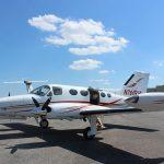 Cessna-414-Plane-Painting