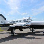 Cessna-421-Custom-Aircraft-Painting